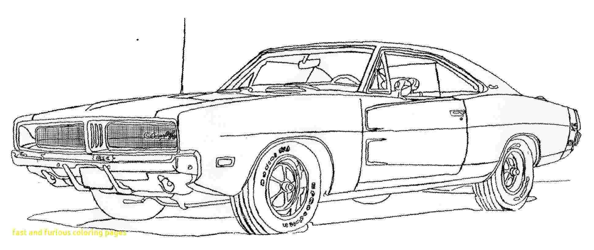 Coloring Festival Fast And Furious Dodge Charger Coloring Pages