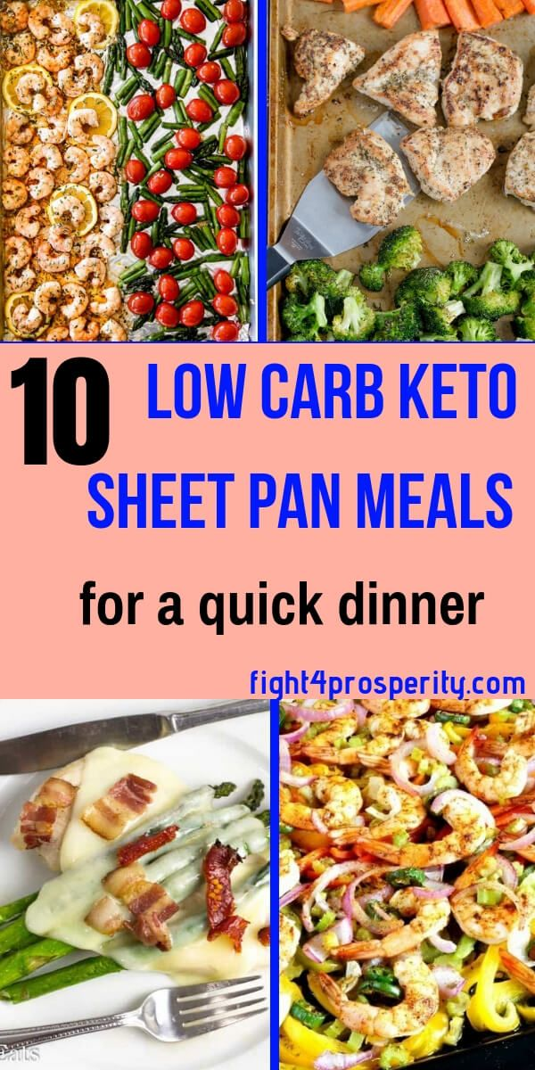 18 Healthy Low Carb Sheet Pan Dinner When You're On A Budget & Feel Lazy - images