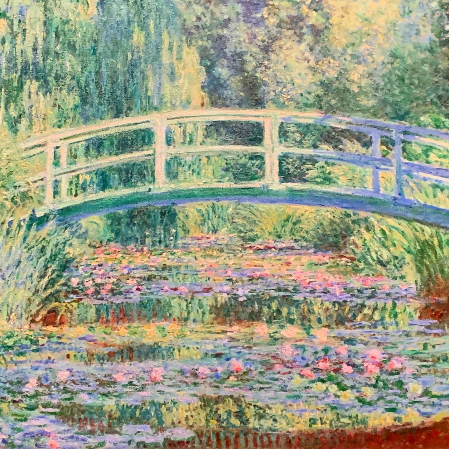 Bridge Over A Pond Of Lilies Oil On Canvas Monet 1899 In 2020