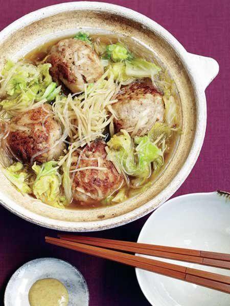 里芋肉団子鍋