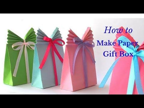 Origami Gift Bag How To Make A Paper Gift Bag Very Easy Hd