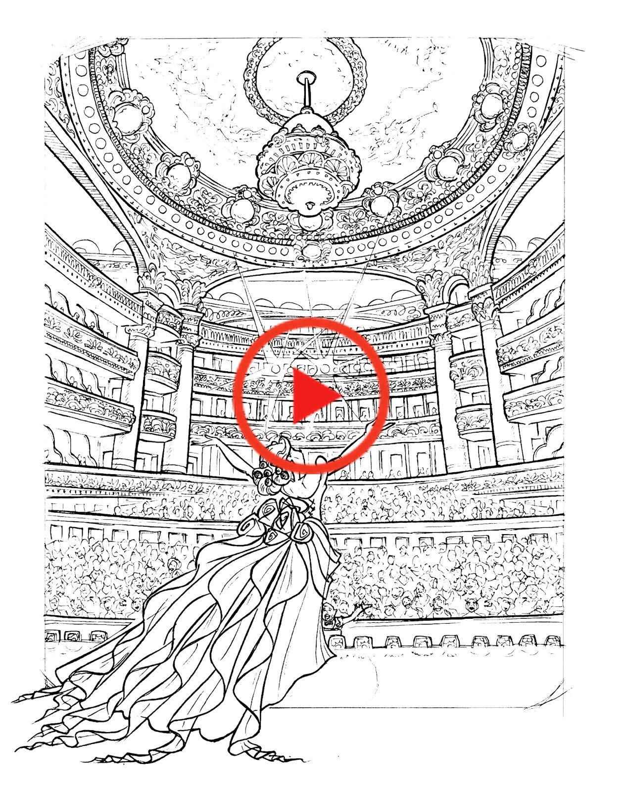 phantom of the opera coloring pages in 2020  phantom