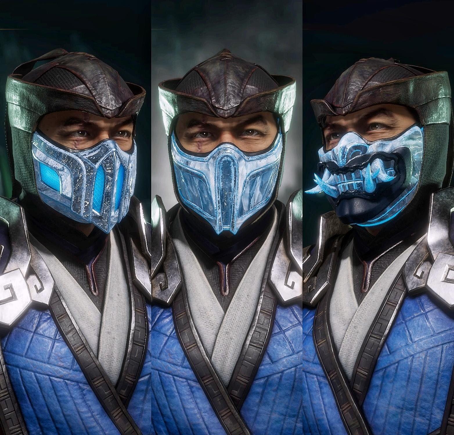 Mortal Kombat 11 Sub Zero My Favorite Masks Mortal Kombat Art