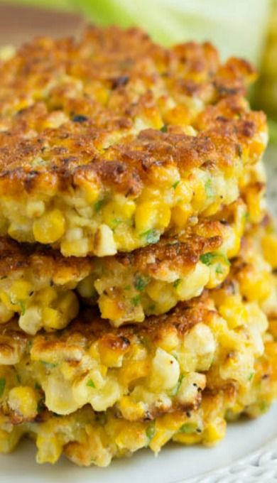 Grilled Corn Fritters Food And Drink Corn Recipes Vegan