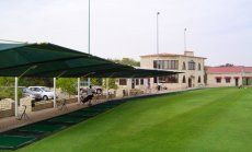 UAE Golf: Al Ghazal Golf Club Driving Range information | UAE Golf Course Driving Ranges