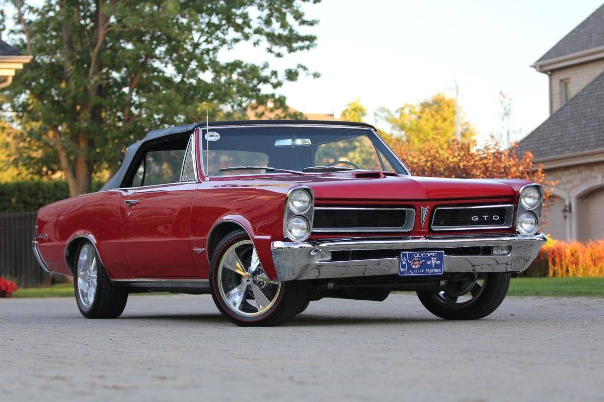 1965 Pontiac Gto Hurst Edition Convertible Extremely Rare