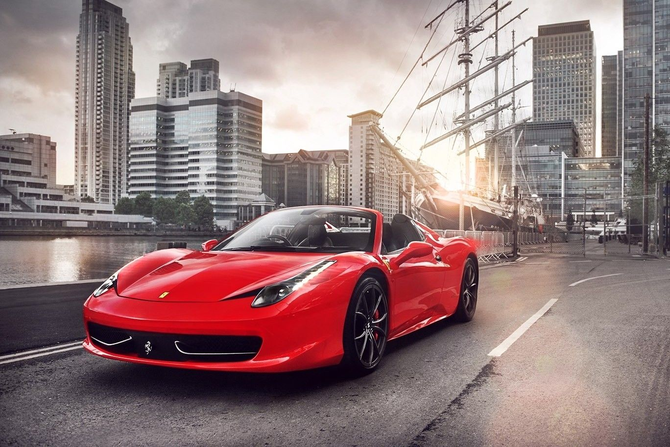 Ferrari 458 Spider Wallpapers Auto S
