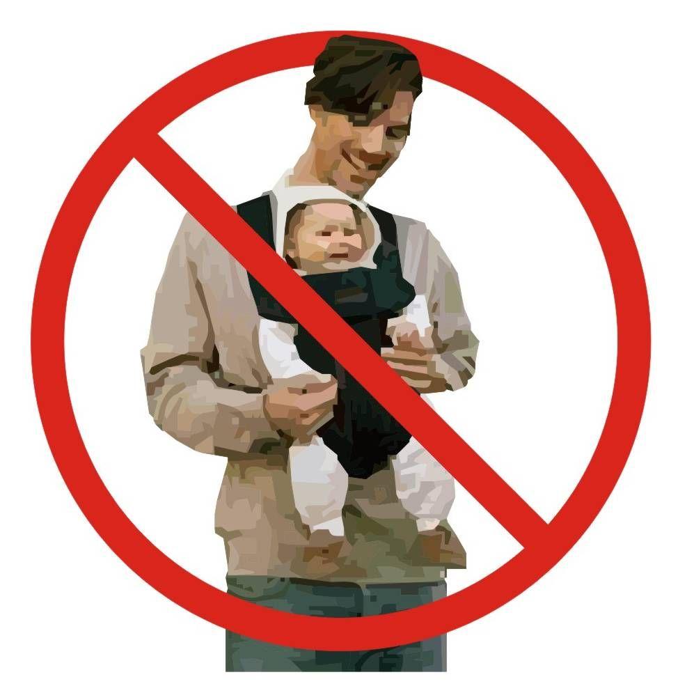 9512918b1b3 Porque no se debe llevar al bebe mirando al frente en la mochila portabebes