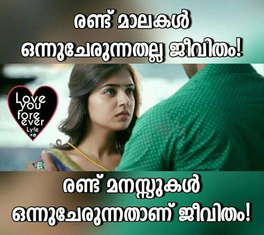 Pin by Love And Love Only on Malayalam Love Quotes Love Quotes Classy Malayalam Love Quotes