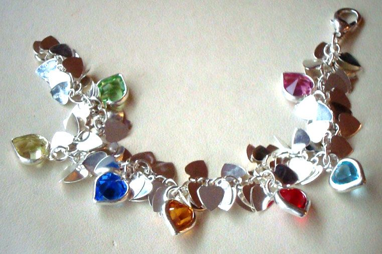 Heart Shimmy bracelets so cute!  Great for little girls $25 to $35 Friend me on facebook!  Taralenas Jewels!