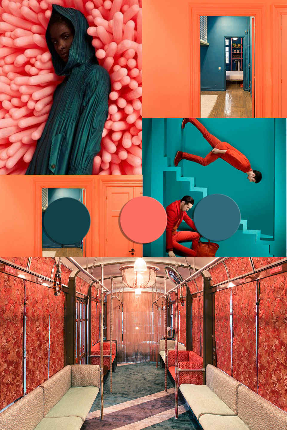 COLOR TRENDS 2020 starting from Pantone 2019 Living Coral matches