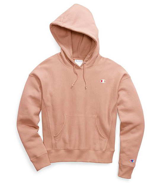 e24e04626 champion life hoodie womans reverse weave pull over hood tinted tan color