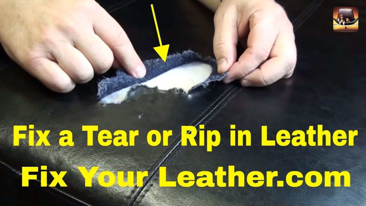 BYCAST Or BONDED LEATHER REPAIR