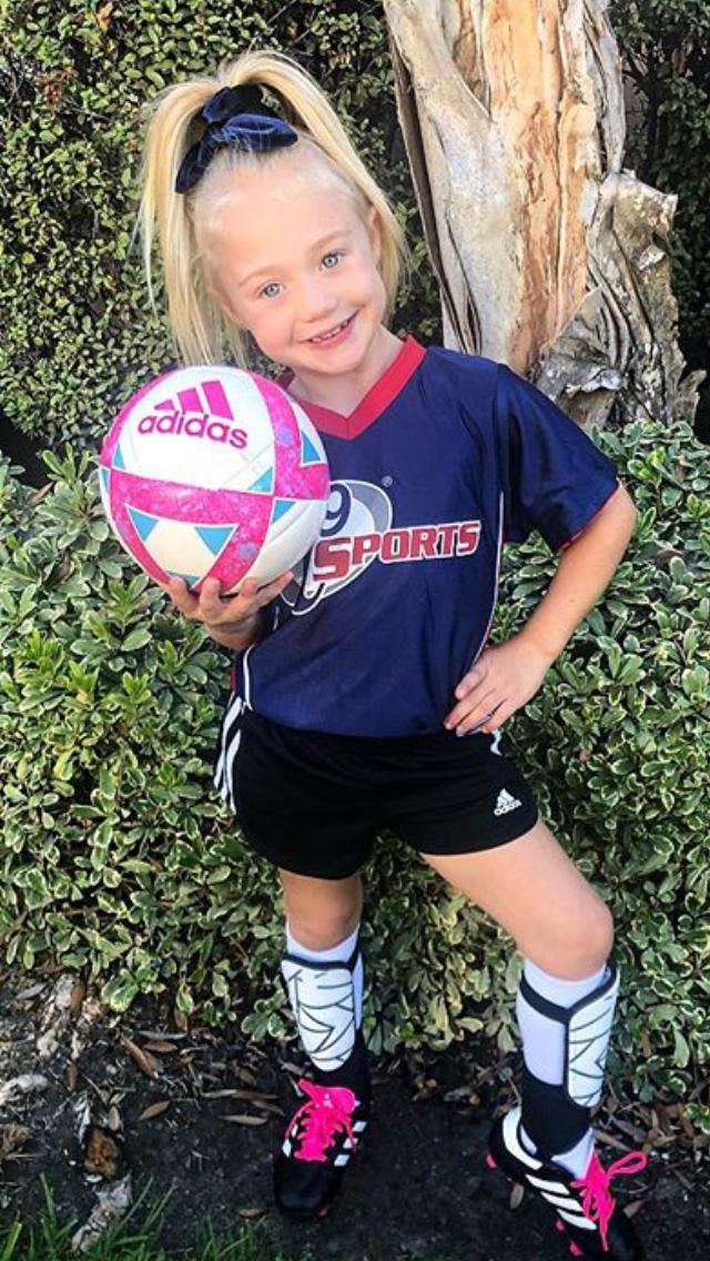 Aww Cute Little Soccer Girl Everleigh Rose Soccer Girls Outfits Soccer Outfits