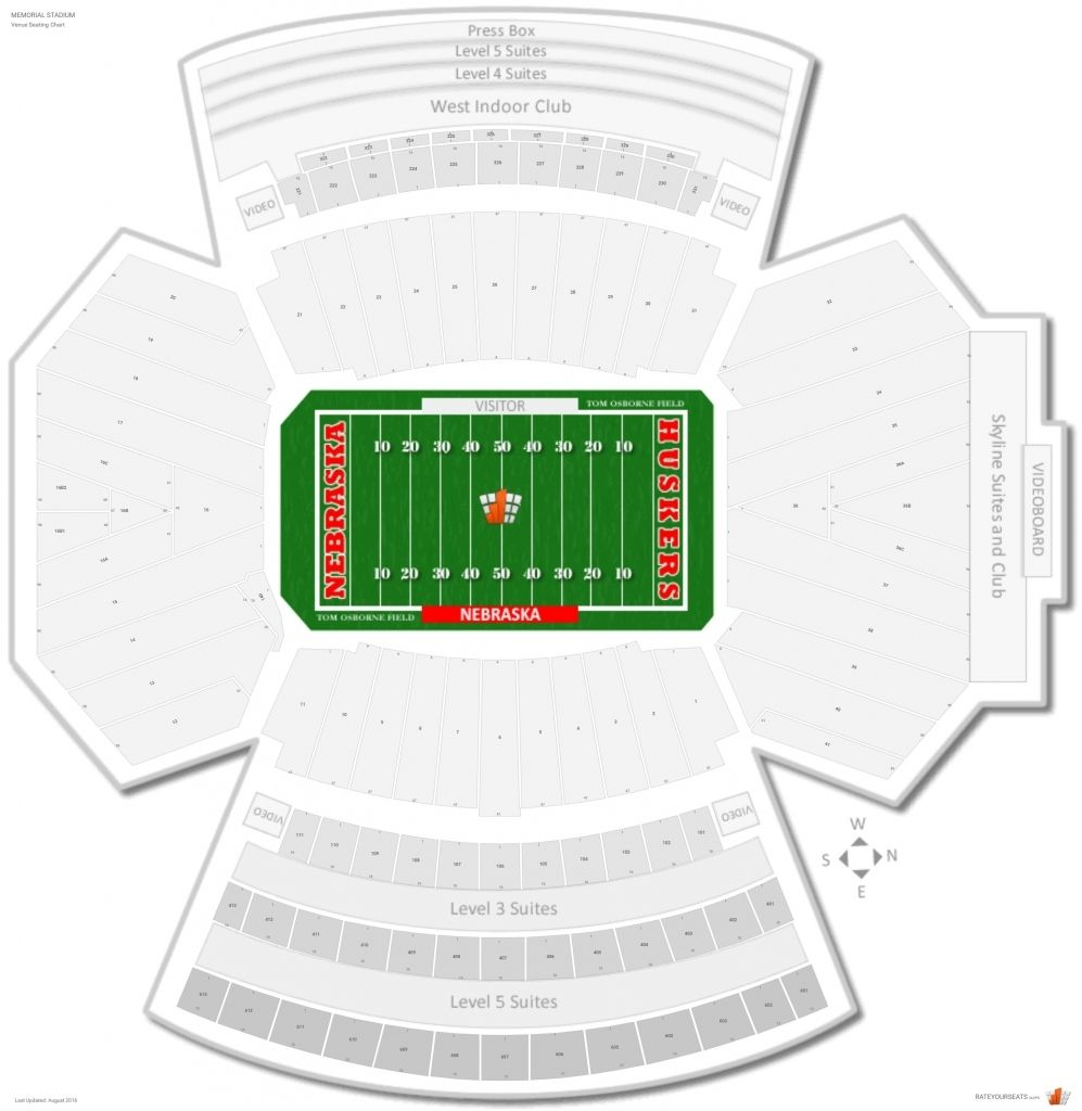 Stylish And Interesting Memorial Stadium Seating Chart With Rows
