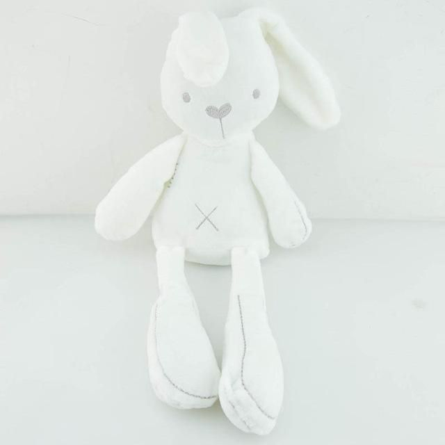 HOT Cute Soft bunny baby sleep appease toys rabbit Plush toy Baby gift White