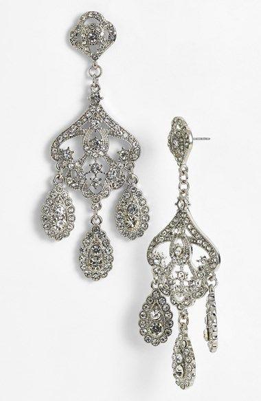 Nina \'Jasmine\' Chandelier Earrings available at #Nordstrom ...