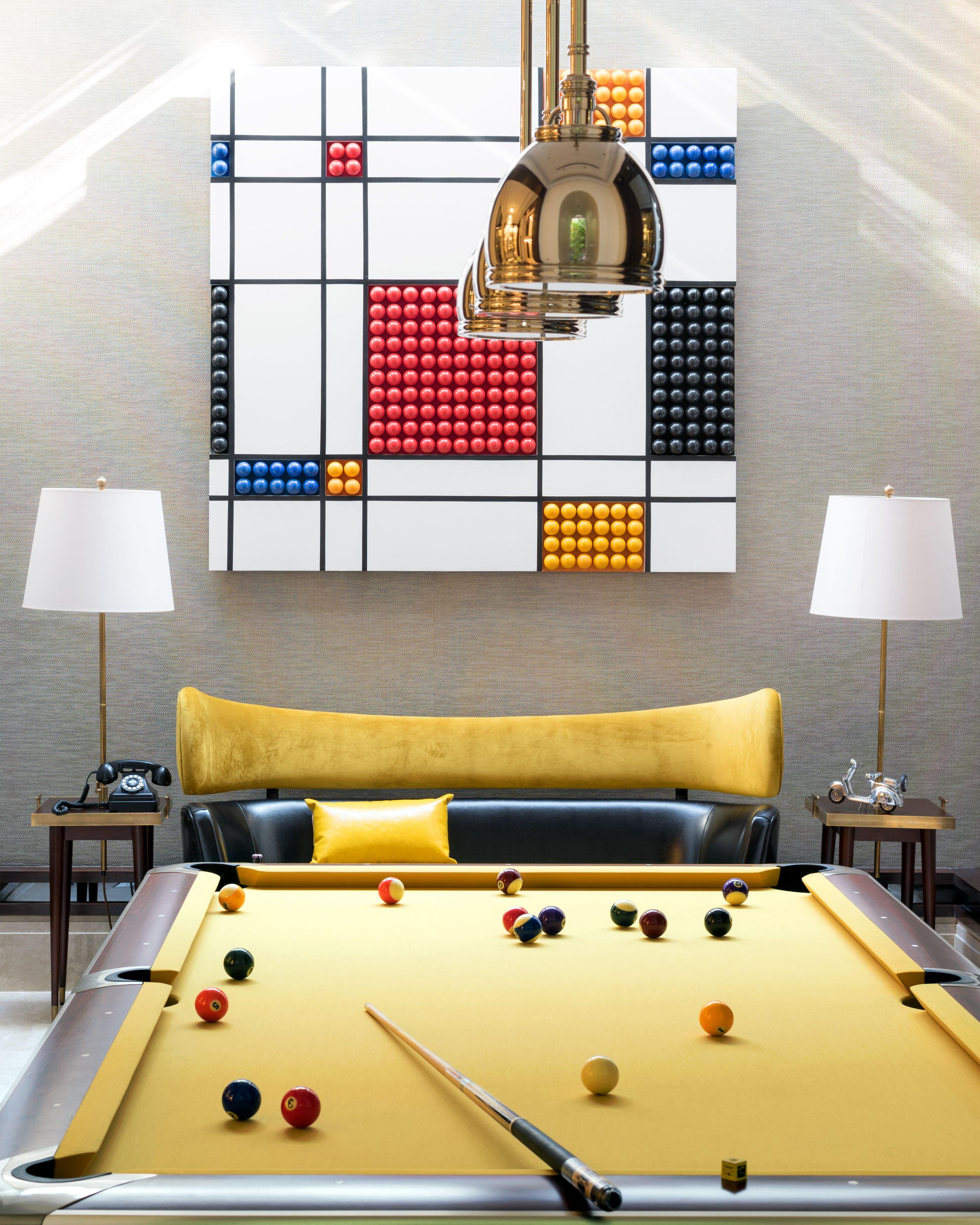 In The Basement / BIlliards Room / Postmodernism Interior