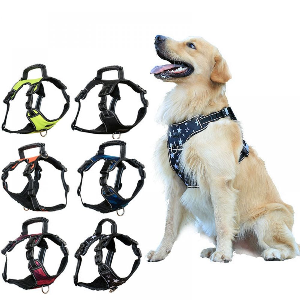 Dog Vests Harness Winter Spring Autumn Small Large Dogs Harness