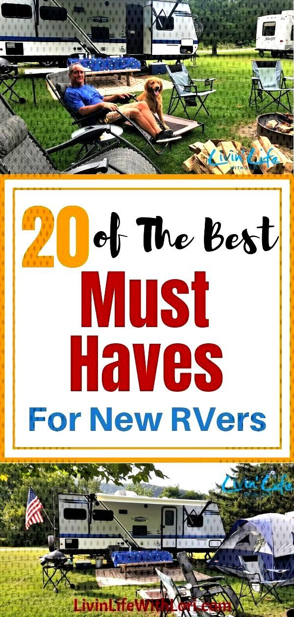 20 Must Haves For New RVers | Livin Life With Lori -  -