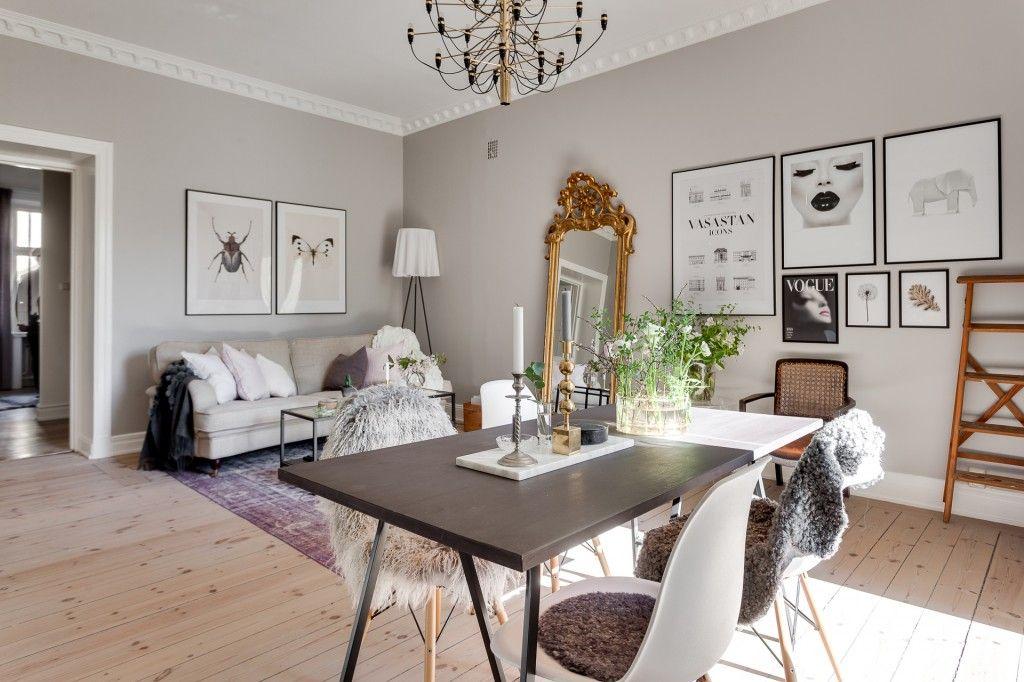 Un #casa nórdica que mezcla un poco de otros estilos.