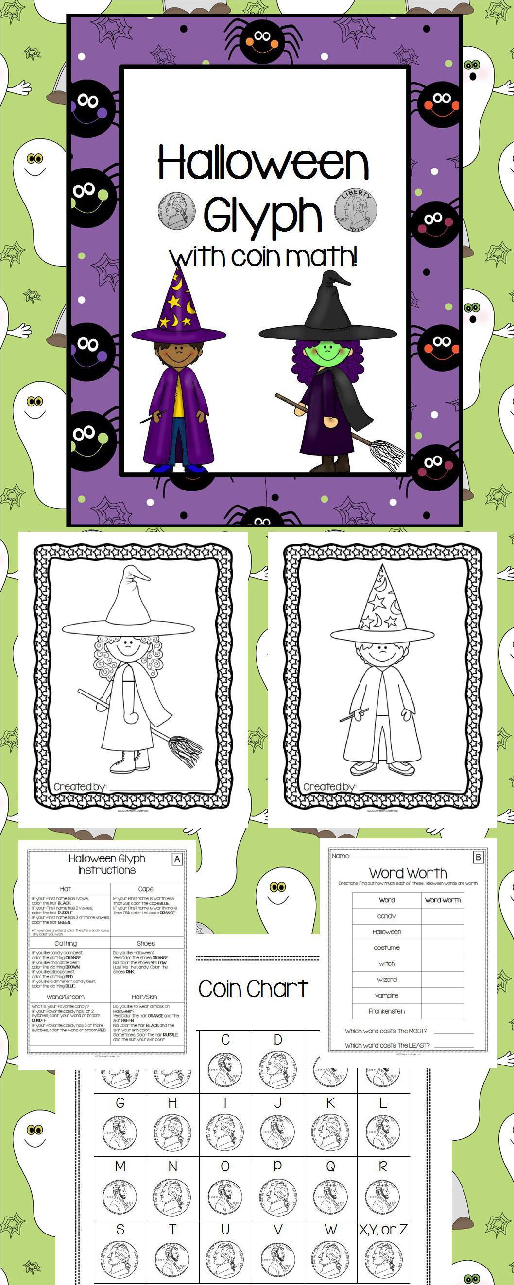 Asombroso Hoja De Matemáticas De Halloween Galería - Dibujos Para ...