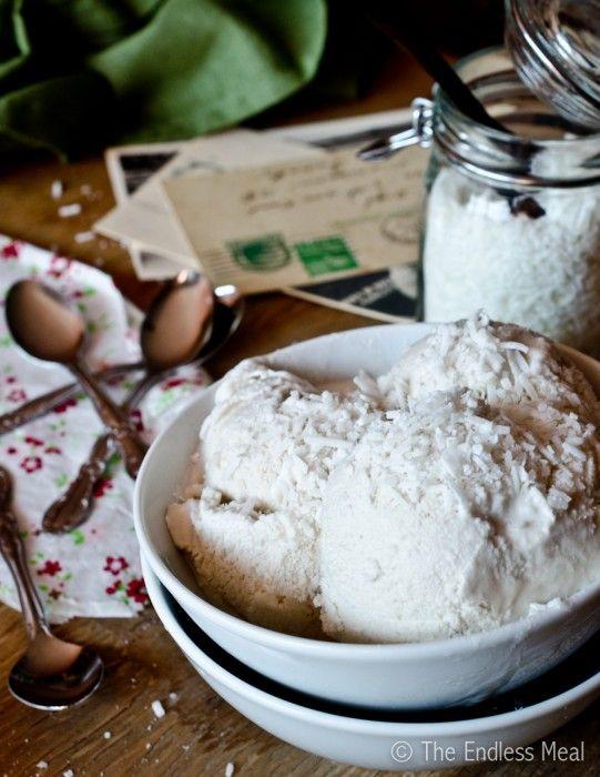 Vanilla Coconut Ice Cream - Endless Meal