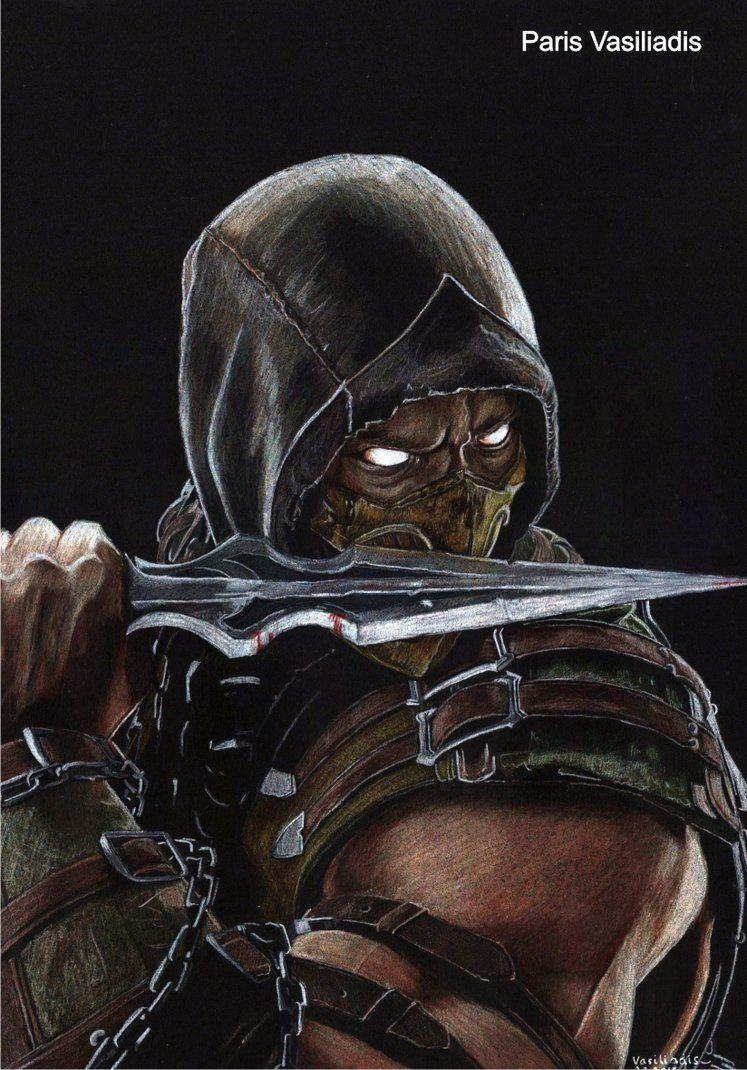 Scorpion Mk X By Parisvasiliadis Imagenes De Mortal Kombat