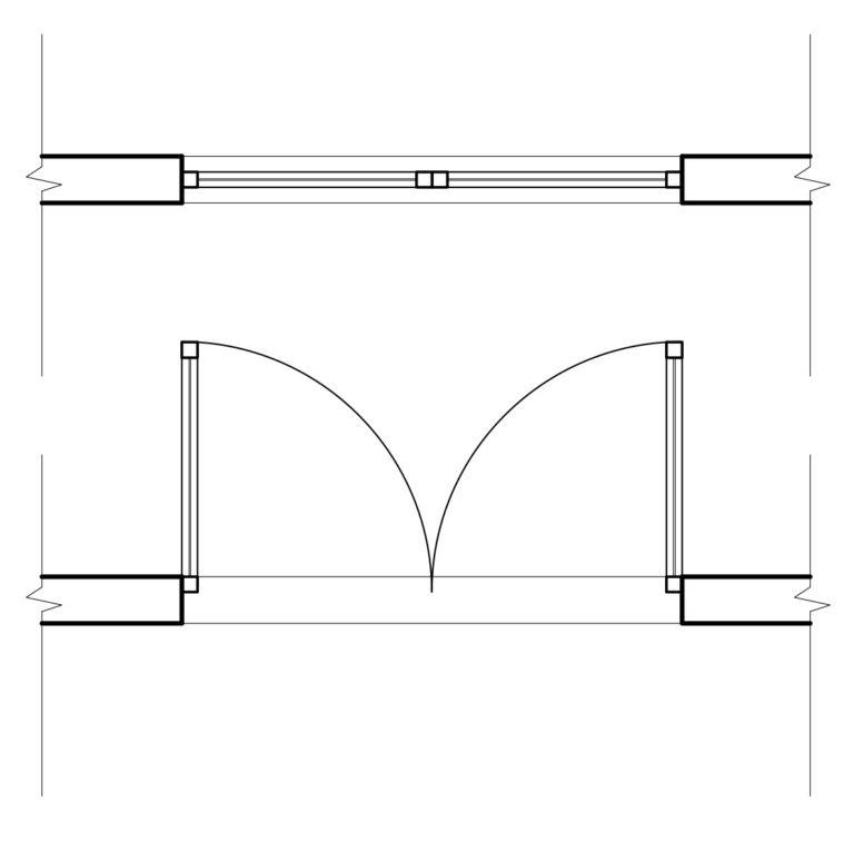 Planimetr A Representaci N En Planos De Muros Puertas Y