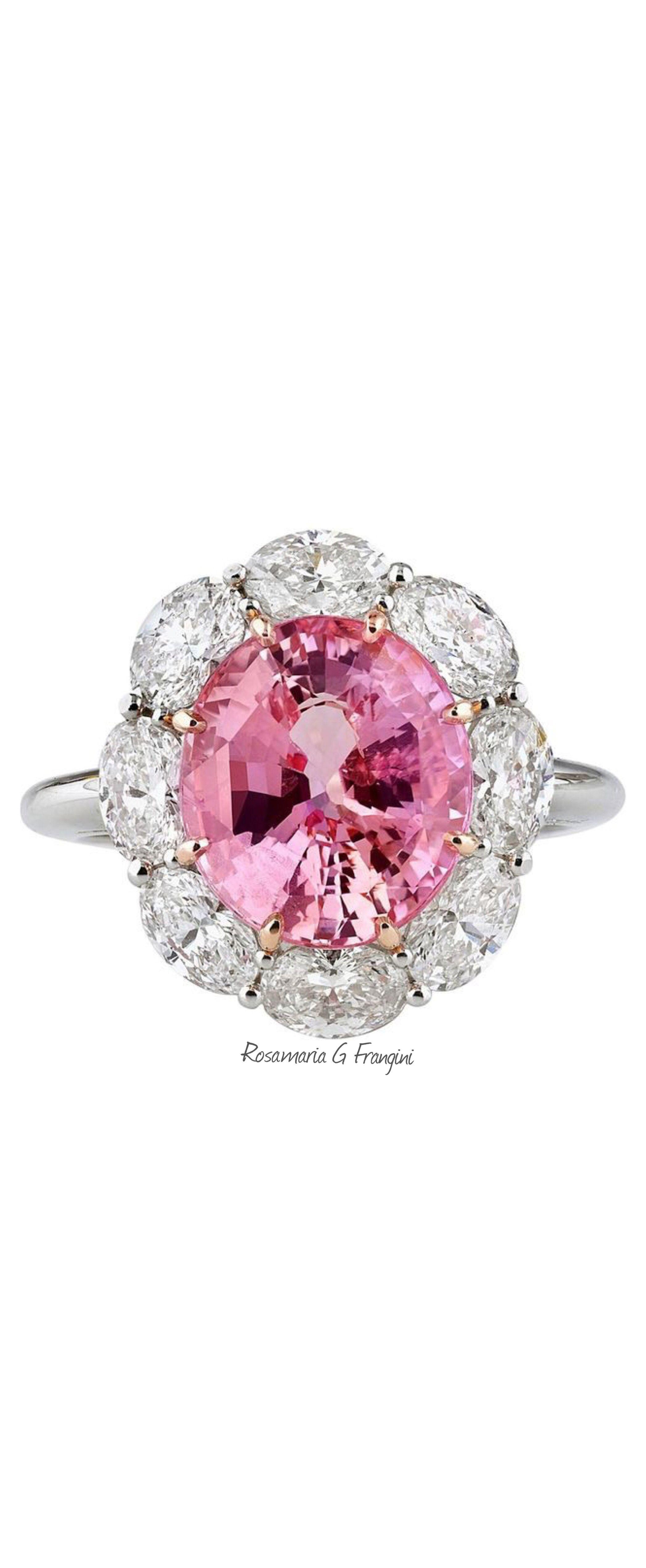 Rosamaria g frangini high pink jewellery carats untreated
