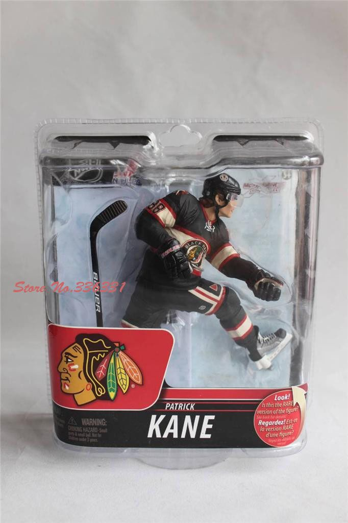 Find More Action Toy Figures Information About Aliexpress Hot Sell Mcfarlane Nhl Hockey Patrick Kane Colle Action Figures Action Figures Toys Blackest Knight