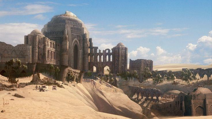 Desert City Concept Art Google Zoeken Fantasy Landscape Fantasy City Fantasy Places