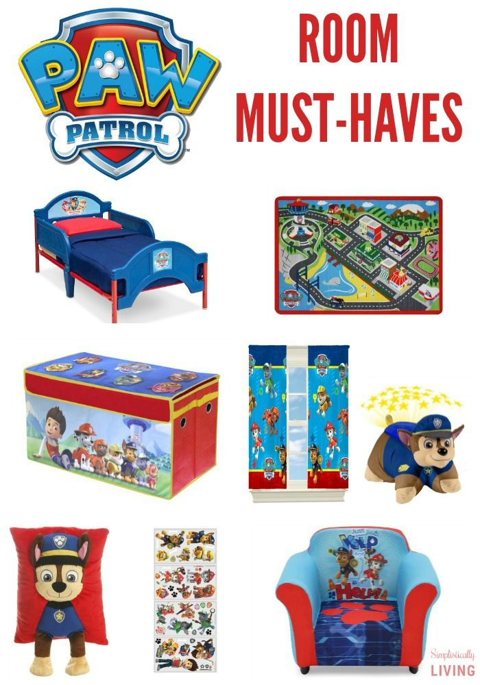 Paw Patrol Room MustHaves DeltaChildren ad  Visit to