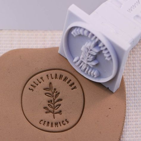 Custom Stamp 25 X 25mm / 1 X 1 For PMC, Art Clay, Metal Clays, Polymer Clay and Pottery Clays.