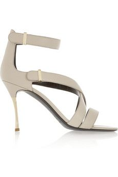 Nicholas Kirkwood Leather sandals | THE OUTNET