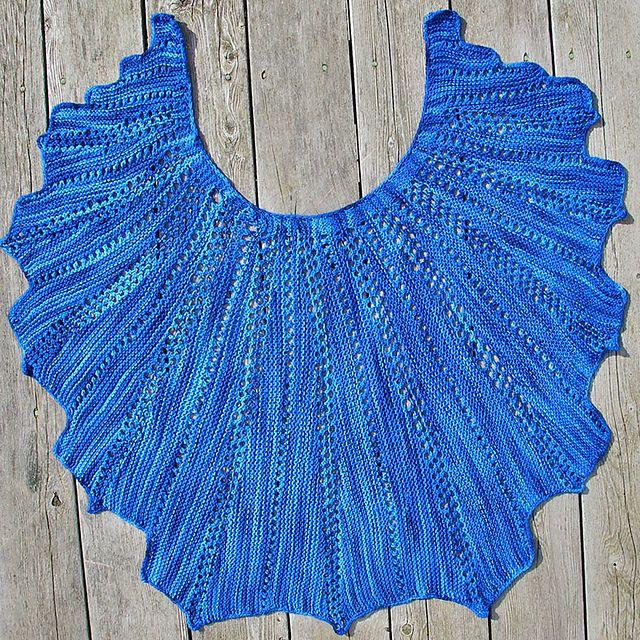 Ravelry: Fan Shawl pattern by SKEINO LLC   SKEINO products ...