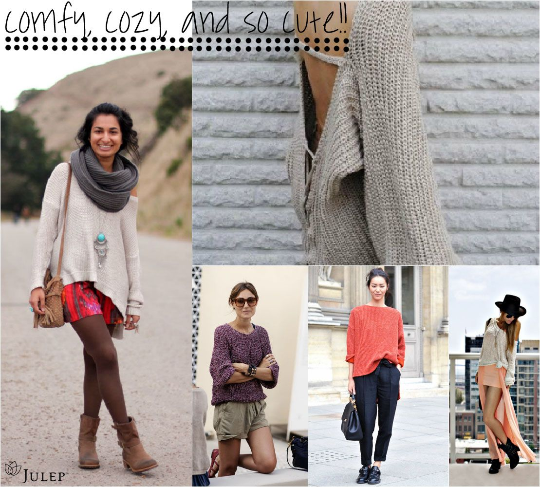 Fall Fashion Favorite: Slouchy Sweaters | Fashion and Style ...
