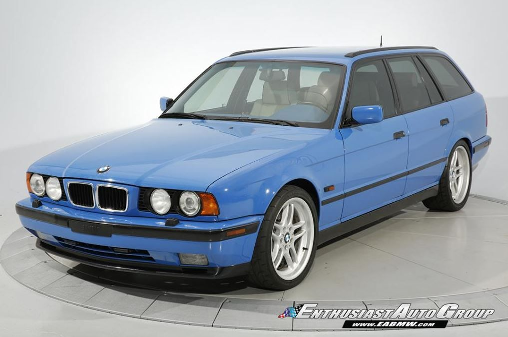 Santorini Blue E34 Bmw M5 Touring Is Asking For 129 990 With