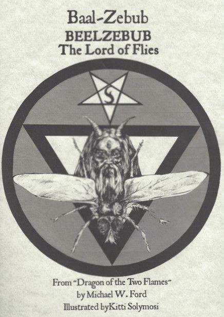 Beelzebub Baal Zebub Lord Of Flies And King Of Demons Poster Print