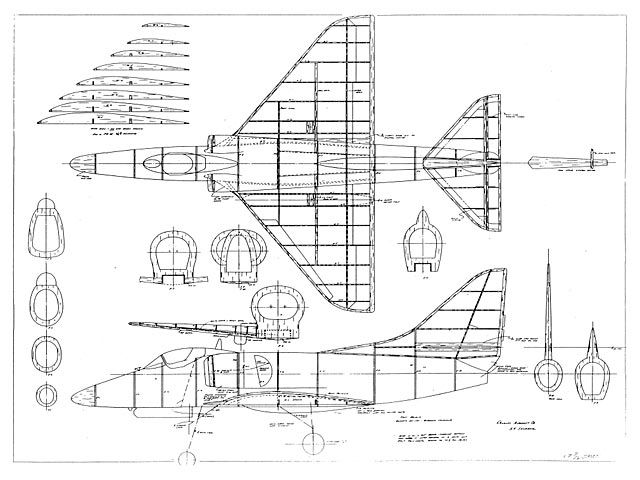 Douglas A4 Skyhawk - plan thumbnail | Rc | Model airplanes