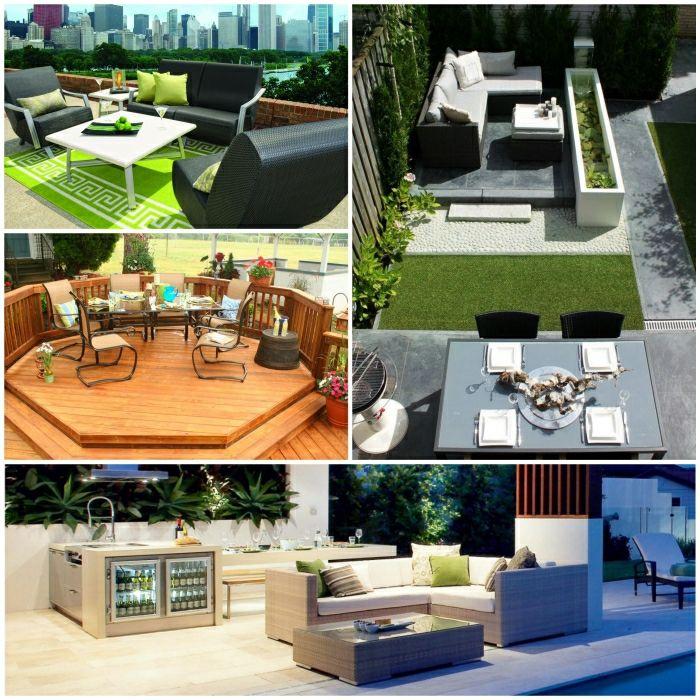 Outdoor Möbel Einrichtungsideen Gartenmöbel Set