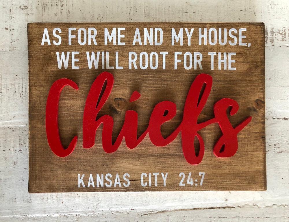 NFL Kansas City Chiefs Sign | Chiefs sign | Kansas City | NFL sign | Chiefs Football | Kansas City Football