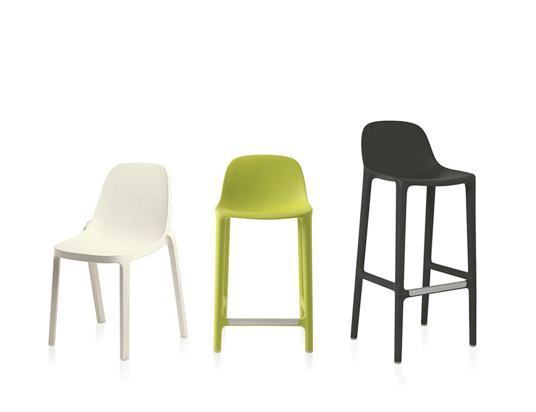 Broom chair for emeco in 2012 to showcase the properties of a new wood - Emeco Broom By Philippe Starck