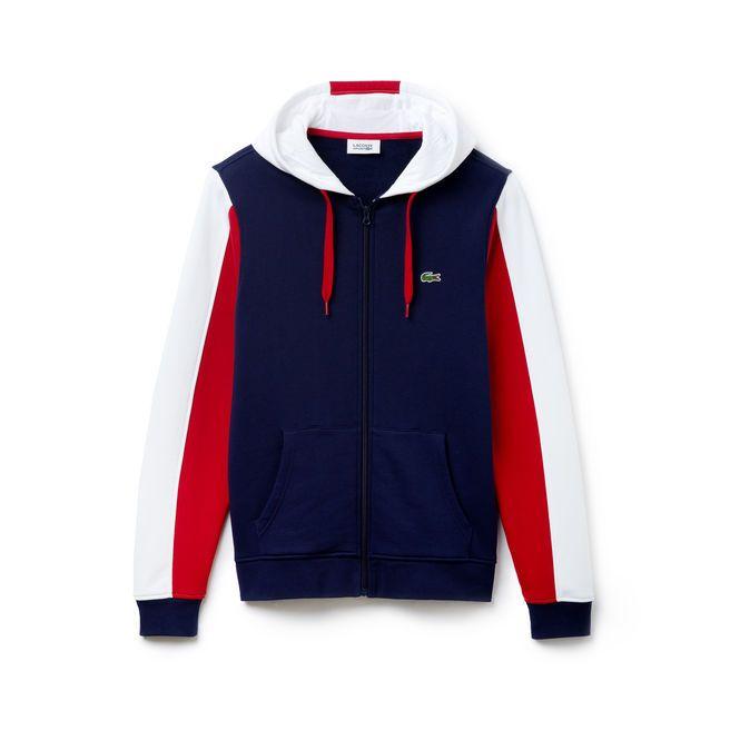 a3b35b3cc1 Sweatshirt à capuche imprimée Lacoste SPORT en molleton Pull Lacoste Femme, Vetement  Lacoste, Mode