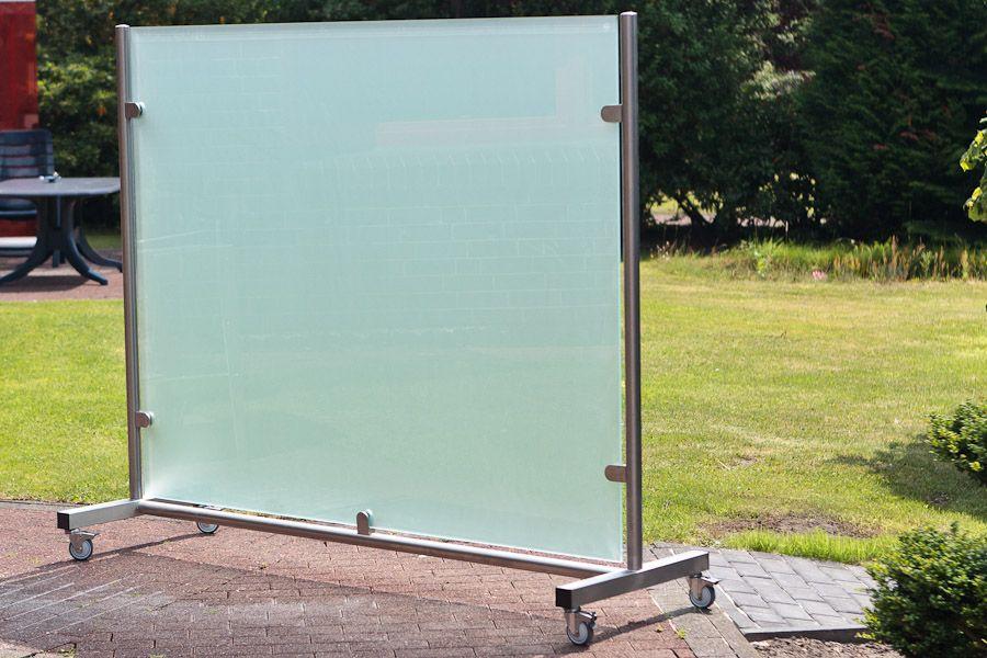 rollbare Wand aus Glas Büro Pinterest Searching - trennwand garten glas