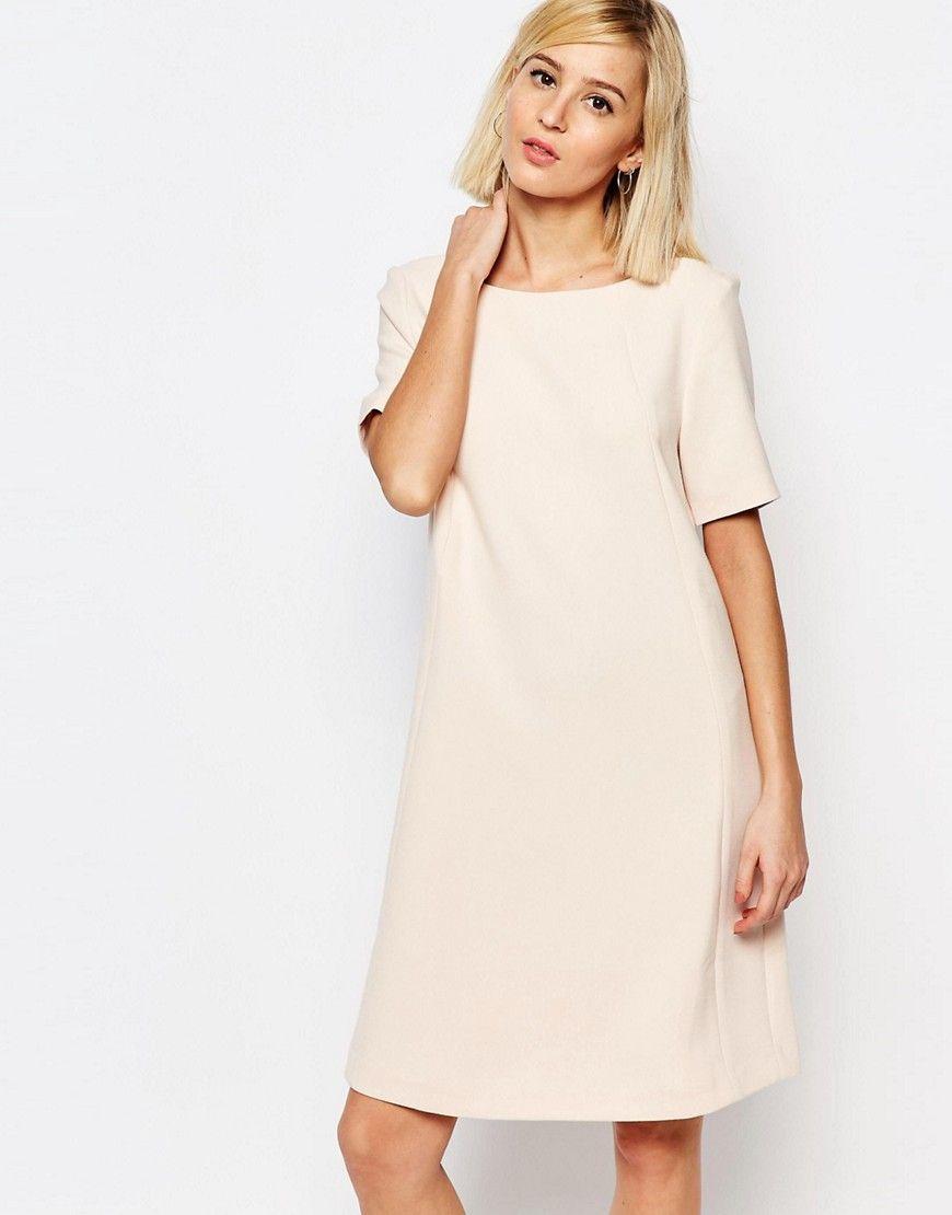 Asos wedding guest dresses with sleeves  SelectedLondanShortSleeveDress  outfit ides  Pinterest  Short