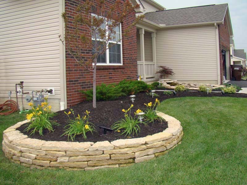 Garden Retaining Wall Design Patio Designers Gallery « Landscaping Services Columbus Ohio .