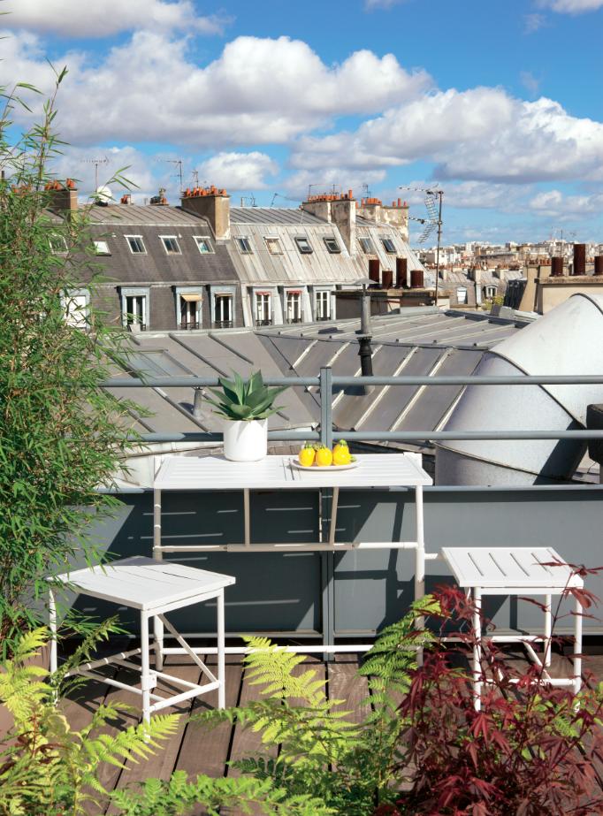 Banc magique id al pour les petits espaces jardin balcon vivre au jardin petit balcon - Jardin petit espace ...