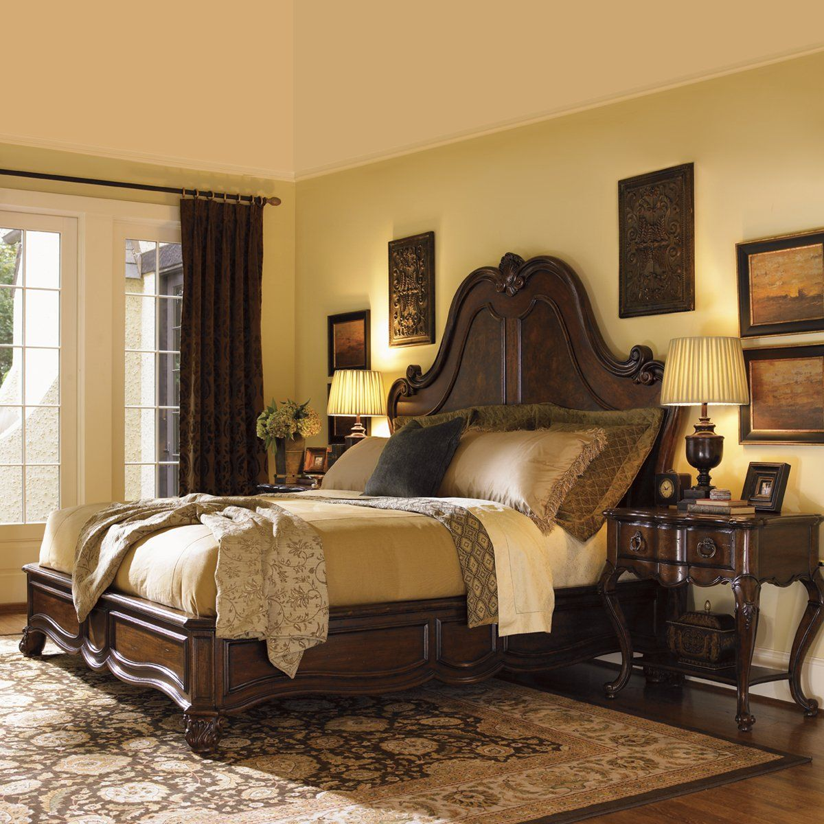 Lexington Bedroom Sets Mesmerizing Lexington Home Brands Palos Verdes Grande Salon Bedroom Set Decorating Inspiration