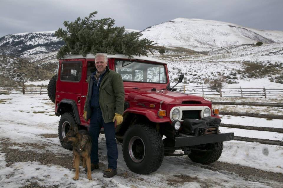 Glenn Beck Toyota Land Cruiser FJ40  Christmas in the